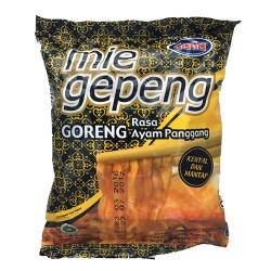 GAGA - Mie Gepeng Goreng Rasa Ayam Panggang - Nouilles Sautées saveur Poulet rôti au piment