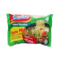 INDOMIE - Soto Mie - Soupe de nouilles goût boeuf et citron