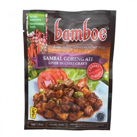 BAMBOE - Sambal Goreng Ati - Préparation d'épices pour Sambal Goreng Atii