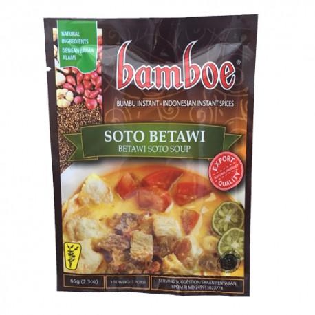 BAMBOE - Soto Betawi - Préparation d'épices pour Soupe Soto Betawi
