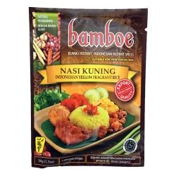 BAMBOE - Nasi Kuning - Préparation d'épices pour Nasi Kuning