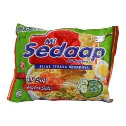 Mi Sedaap - Mi Sup Soto - Soupe de Nouilles Indonésiennes goût Boeuf & Citron