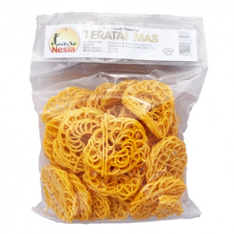NESIA – Krupuk Kampung  Teratai Mas - Chips à frire