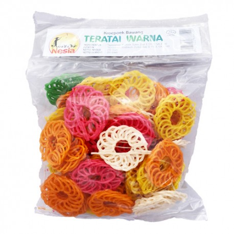 NESIA – Krupuk Kampung  Teratai Warna - Chips à frire