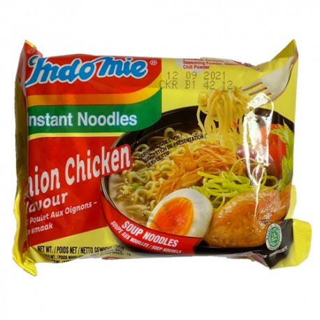 INDOMIE - Soup Onion Chicken flavor - Soupe de nouilles goût poulet aux oignons
