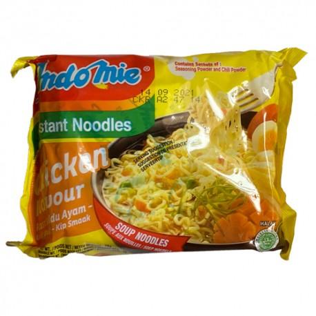 INDOMIE - Soup Chicken Flavor - Soupe aux nouilles goût Poulet