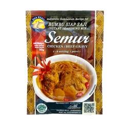 DUA KUALI - Semur Chicken/ Beef Gravy Bumbu Siap Saji - Préparation d'épices pour Semur