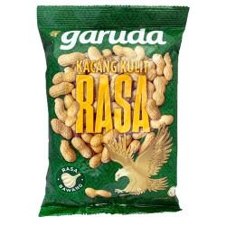 Garuda - Kacang Kulit rasa Bawang - Cacahuètes saveur ail 210g