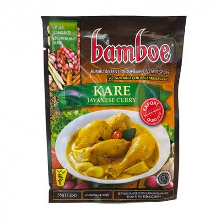 BAMBOE - Kare Javanese Curry - Préparation d'épices pour Curry Javanais