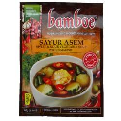 BAMBOE - Bumbu Sayur Asem - Préparation d'épices pour Sayur Asem